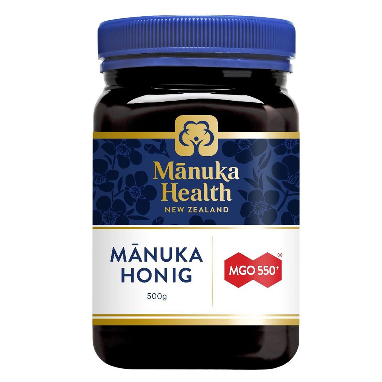Manuka Health Manuka Honig MGO 550+ 500 g